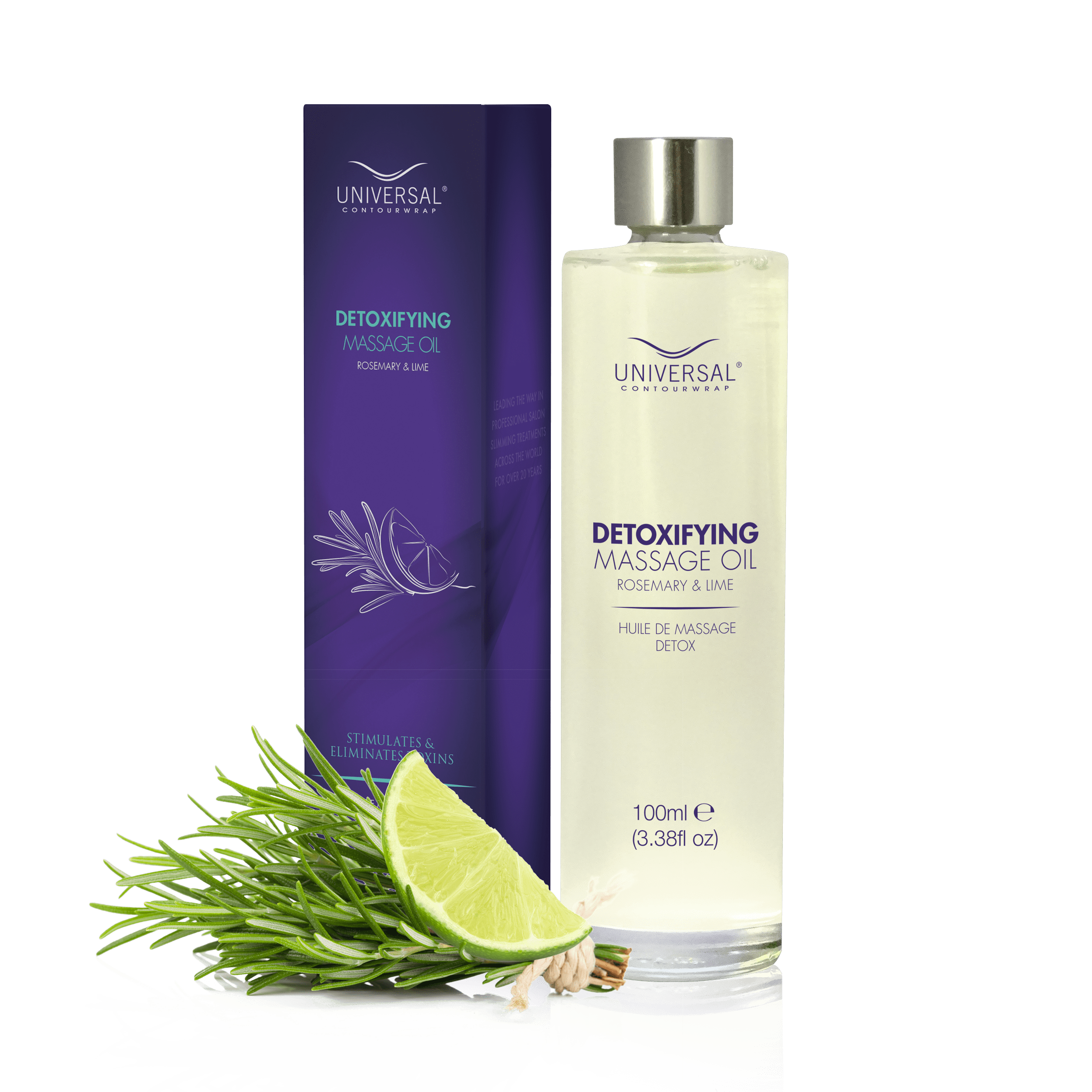Detox Massage Oil Rosemary and Lime
